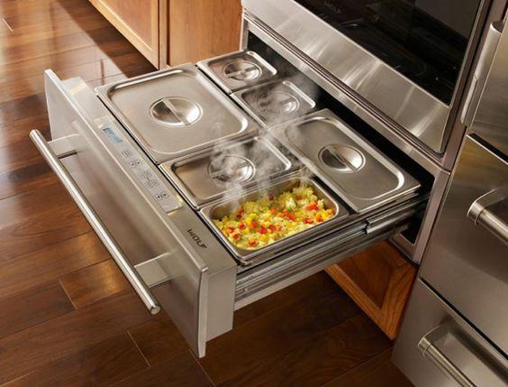 Entertaining Kitchen Remodel Warming Drawer Design Hatchett Virginia Beach