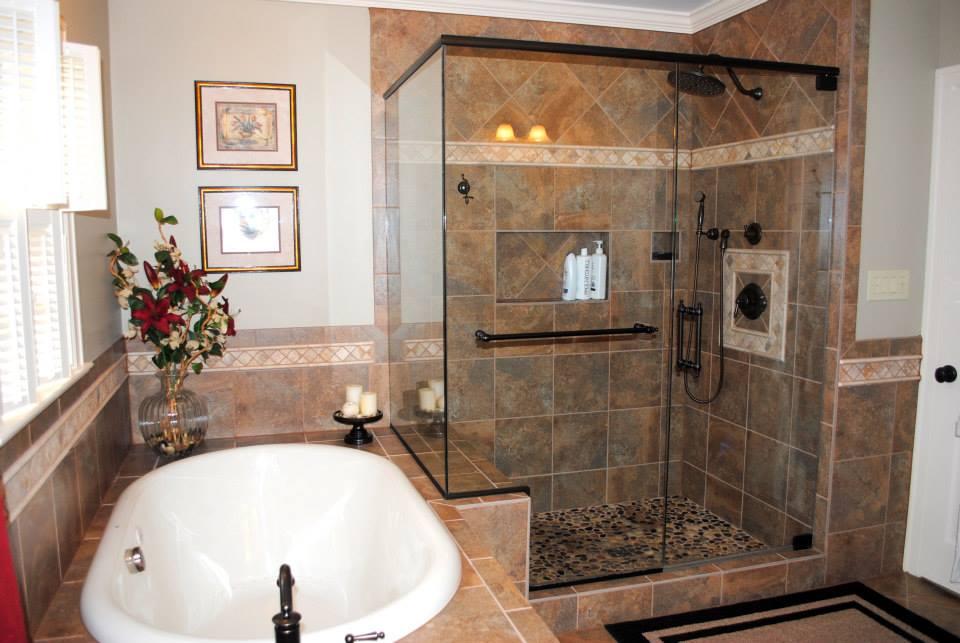 Master Bath Remodel For The Gillens Hatchett Design Remodel