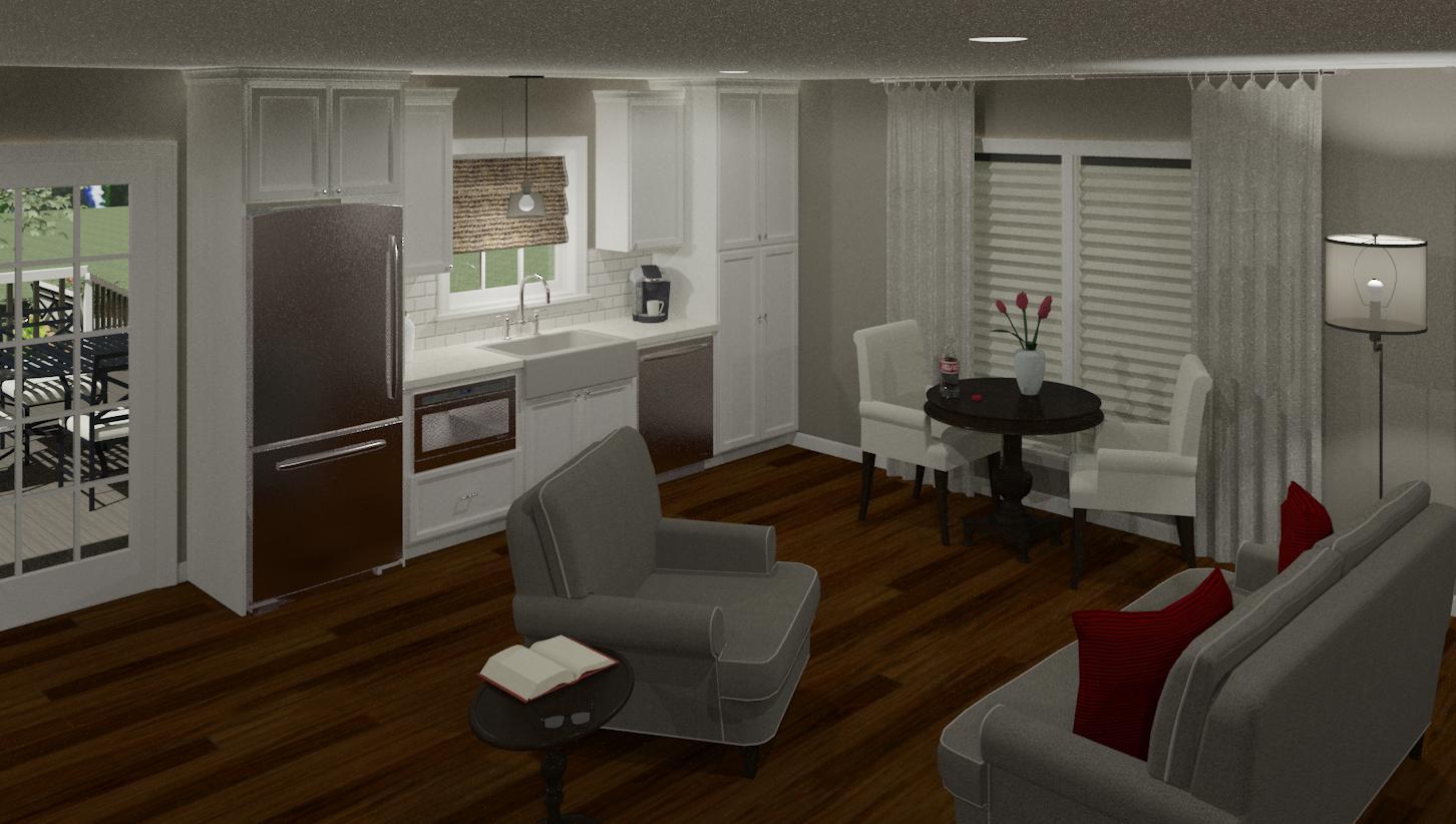In Law Suite Addition Decor Color Scheme Hatchett Design