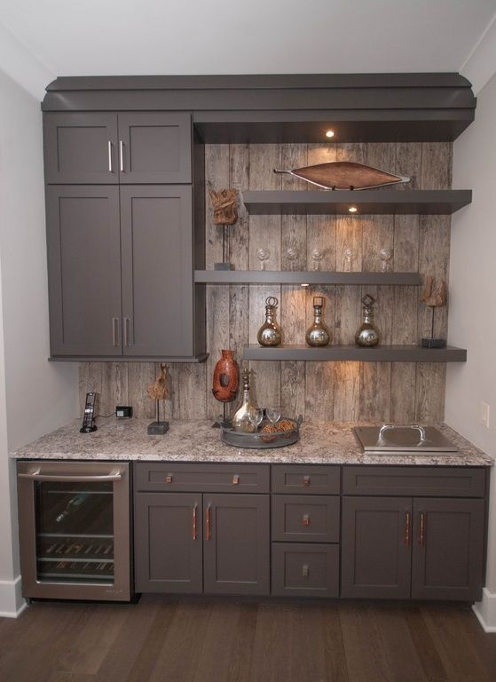Kitchen Reclaimed Wood Accent Wall Hatchett Design Remodel