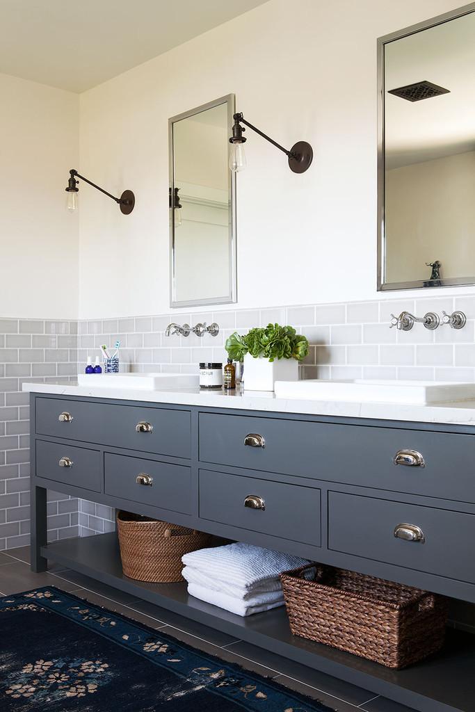 Industrial Style Bathroom Vanity