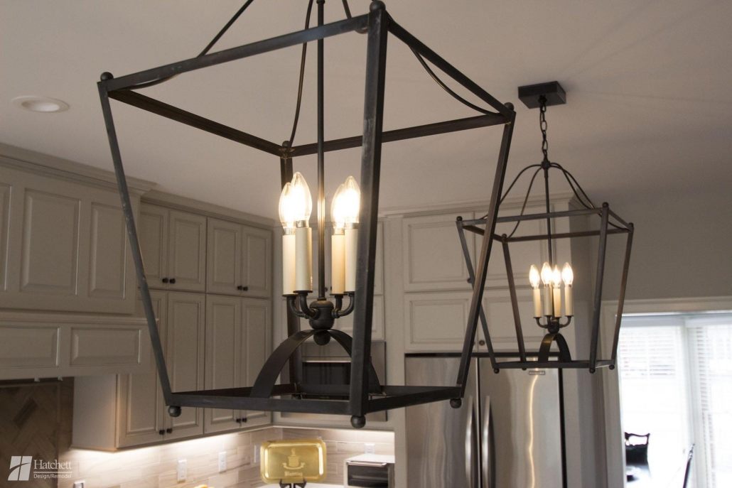 Kitchen Remodel, Light Fixtures, Pendant Lights, Custom Design
