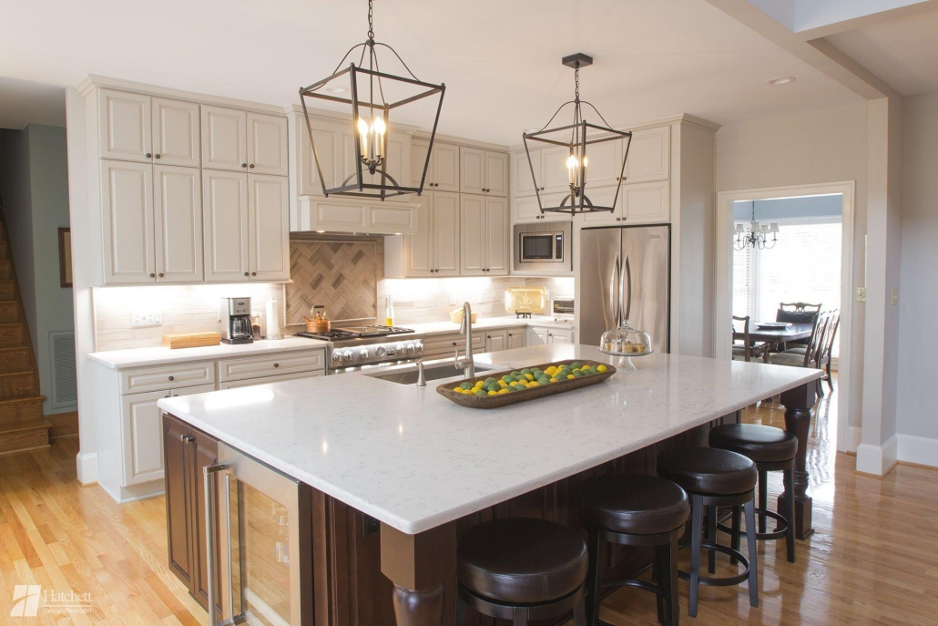 Kitchen remodel, kitchen island, load baring wall