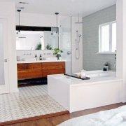 Open Bathroom Design Trend